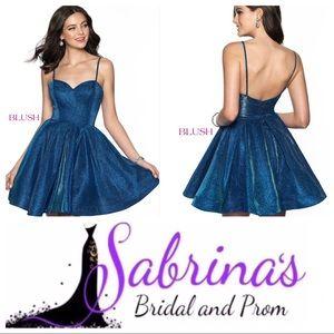 Blush - Style 11813 - Size 14 - Ocean/Blue/Shimmer